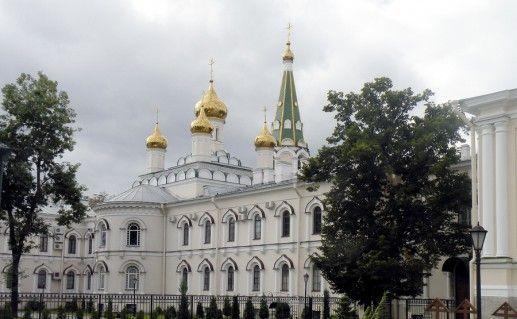 санкт-петербургский Воскресенский Новодевичий монастырь фото