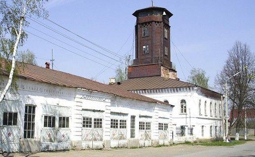 фотография пожарно-сторожевого комплекса в Елабуге