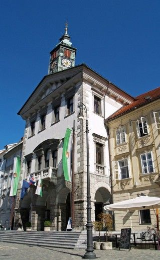 фото Ратуши в Любляне