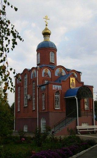 вид на Свято-Георгиевский храм в Краснодаре фото
