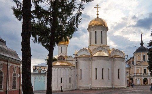 фото Троицкого собора Троице-Сергиевой лавры
