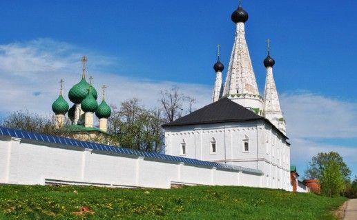 фото вида на угличский Алексеевский женский монастырь