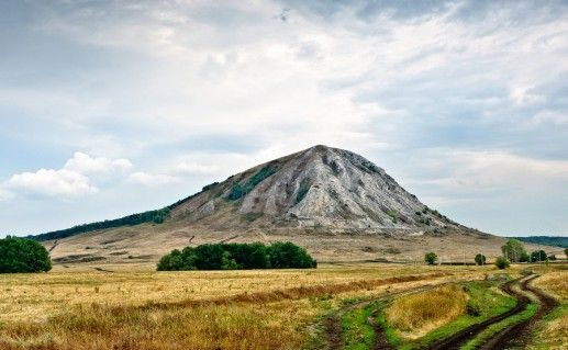фото вида на горы Шиханы в Башкирии