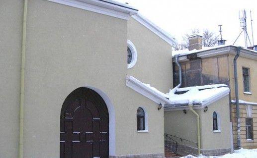фотография вида на католический монастырь Санкт-Петербурга