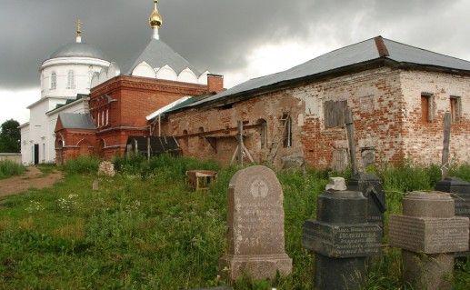 фото вида на Николаевский Клобуков монастырь