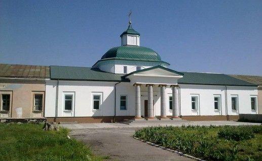 фото вида на Самарский Свято-Николаевский монастырь