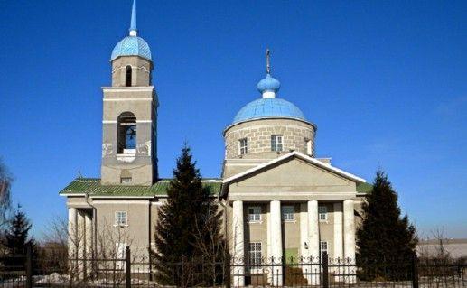 фото вида на Свято-Михайловский храм в Белгороде