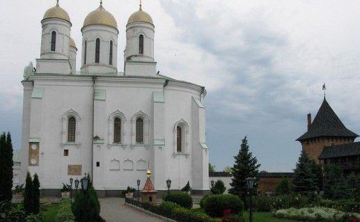 фотография вида на Зимненский монастырь
