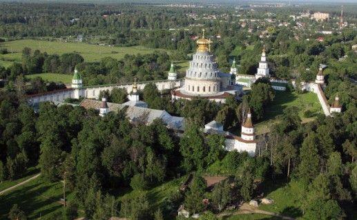 фотография вида Новоиерасулимского монастыря в Истре