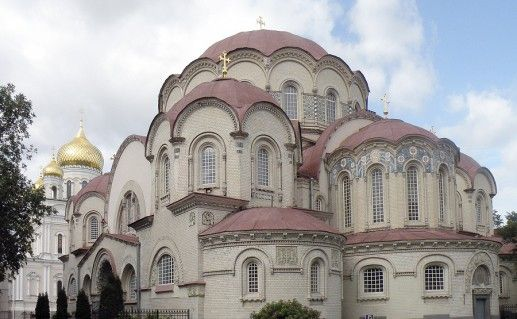 фотография Воскресенского Новодевичего монастыря в Санкт-Петербурге