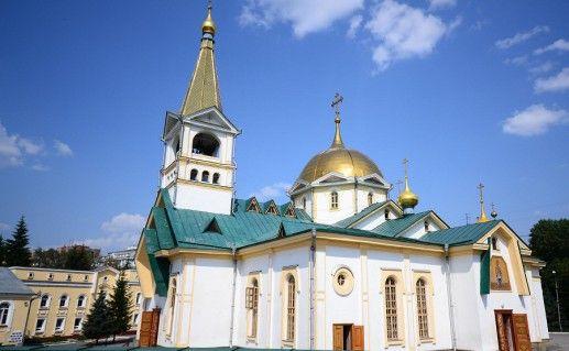 новосибирский Вознесенский кафедральный собор фото