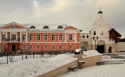 фотография серпуховского Введенского Владычного монастыря
