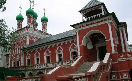 Высоко-Петровский монастырь в Москве фото