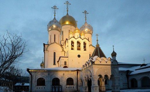 Зачатьевский московский монастырь фотография
