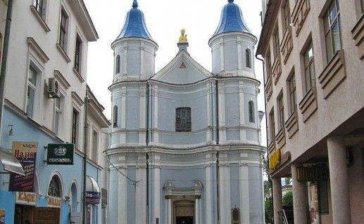 фотография Армянской церкви в Ивано-Франковске