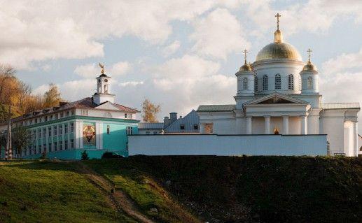 Благовещенский монастырь в Нижегородской области фотография