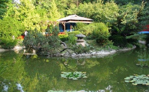 фото ботанического сада в Бухаресте