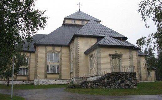 церковь сельского прихода в Миккели фото