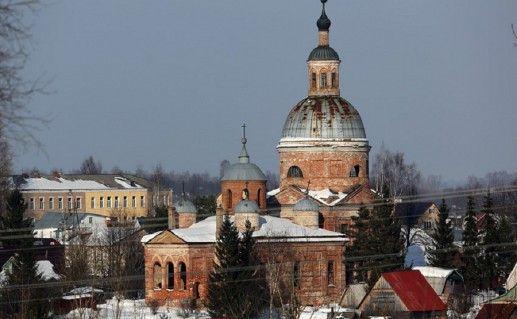 церковь Владимирской иконы Пресвятой Богородицы в Вязьме фото