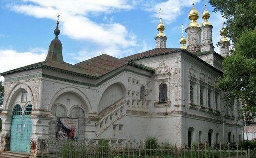 фотография великоустюгской церкви Жен мироносиц