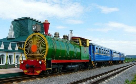 фотография кемеровской детской железной дороги