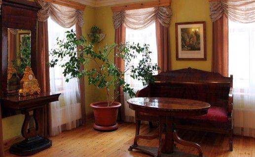 фотография интерьера дома-музея Верещагиных в Череповце