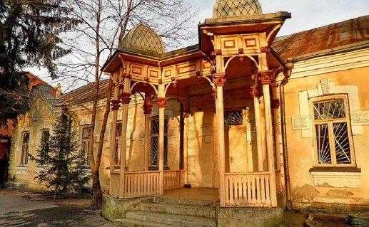 дворец барона Штейнгеля Владикавказ фотография