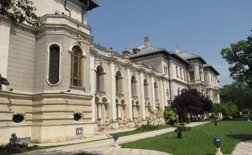 дворец Котрочень в Бухаресте фото
