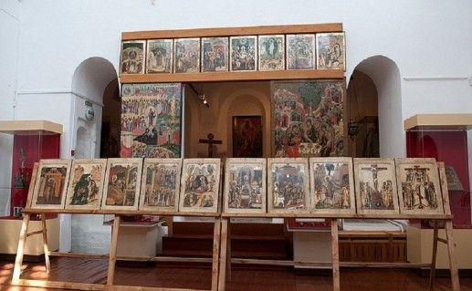 фото экспозиции музея древнерусского искусства в Великом Устюге