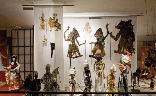 экспозиция музея игрушек в Тарту фото