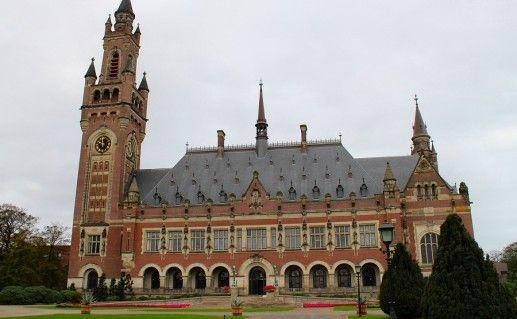 фото Дворца мира в Гааге