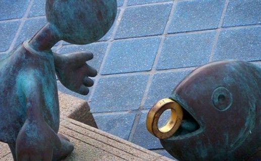 фото Музея скульптур на море в Гааге