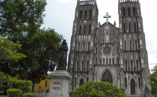 кафедральный собор в Ханое фотография