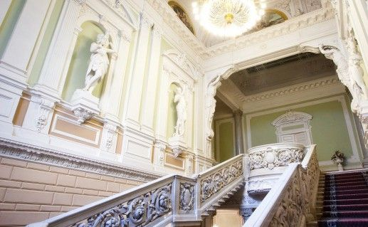 интерьер петербургского Дворца бракосочетания №1 фото
