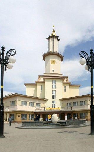 ратуша в Ивано-Франковске фото