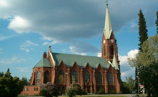 фотография кафедрального собора Миккели