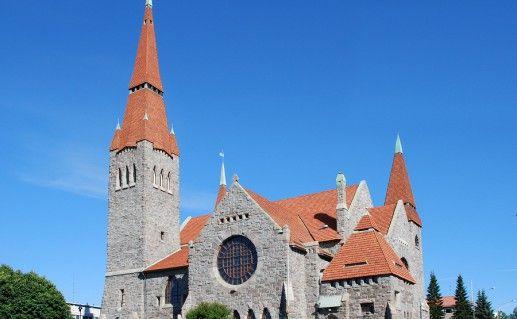 фото кафедрального собора в Тампере