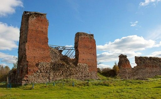 фотография белорусского Кревского замка