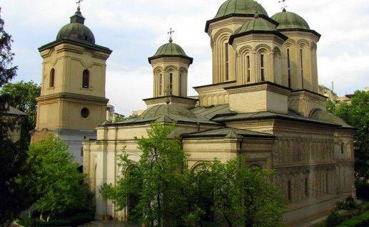 фото монастыря Святой Троицы в Бухаресте