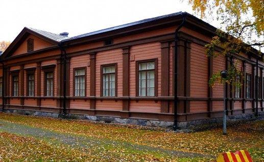 фотография музея пехотных войск в Миккели