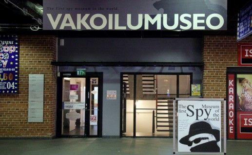фотография музея шпионажа в Тампере