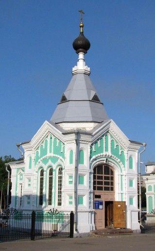 череповецкая Никольская часовня фотография