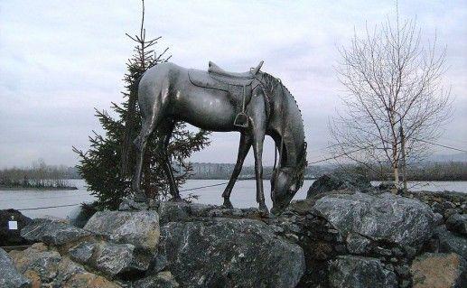 Фотография памятника Белая лошадь в Красноярском крае