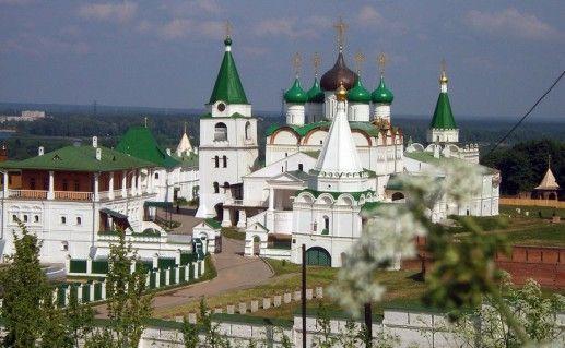 Печерский Вознесенский монастырь в Нижегородской области фото