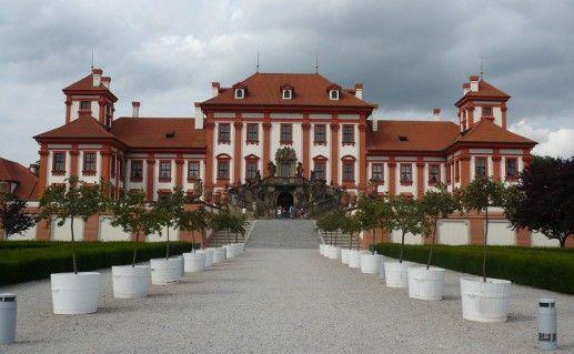 фото Пражского Тройского замка