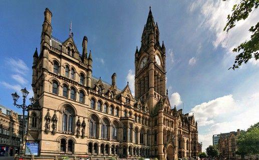 фотография ратуши в Манчестере