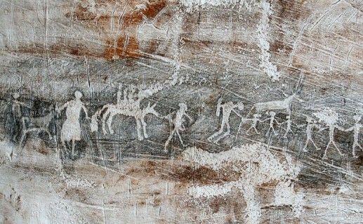 рисунки в долине Елангаш фотография