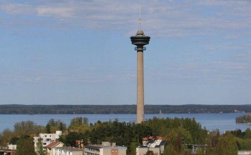 смотровая башня Нясиннеула в Тампере фотография