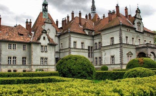 замок Шенборнов Украина фото