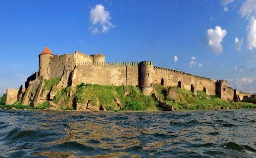 фото вида на Аккерманскую крепость на Украине